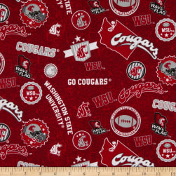 NCAA Washington State Cougars Home State Red/Black/White/Gray