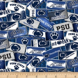 NCAA Penn State Nittany Lions License Plate Cotton