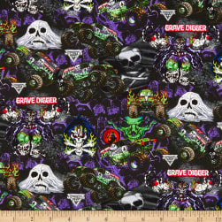 Monster Jam Grave Digger Graphics Multi