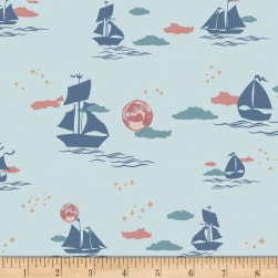Art Gallery Enchanted Voyage Offshore Dream Breeze Blue/Pink