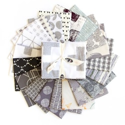 Art Gallery Special Curated Bundle 18'' Fat Quarters Greyscale 20pcs