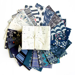 Art Gallery Special Curated Bundle 18'' Fat Quarters Midnight Blues 20pcs