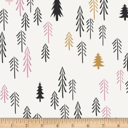 Art Gallery Pine Lullaby Stretch Jersey Knit Loblolly Wood Fabric