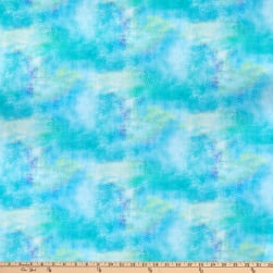 Bloom with Grace Digital Diamond Texture Turquoise