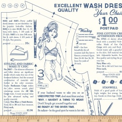 Riley Blake Vintage Happy 2 Dressmaking Cloud
