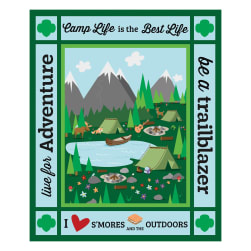 Riley Blake Girl Scout™ Camp Life 23'' Panel Fabric