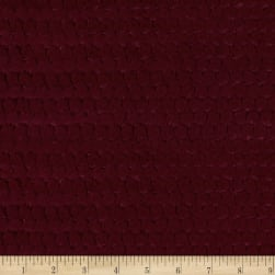 Shannon Minky Luxe Cuddle Brooklyn Merlot Fabric