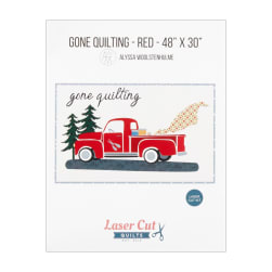 Laser Cut Quilts Gone Quilting Firehouse Red Laser