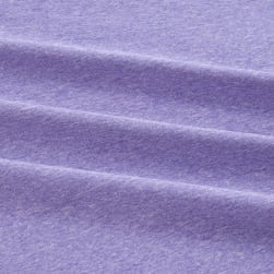 Fabric Merchants Double Brushed Poly Stretch Jersey Knit Two Tone Lilac