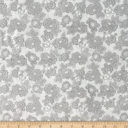 Oasis Serenity Dotted Floral Grey