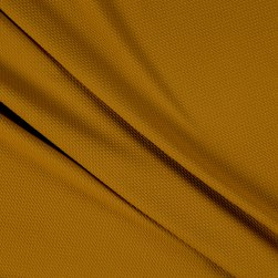 Merchants Bullet Stretch Knit Solid Dark Mustard