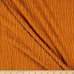 Telio Chenille Novelty Stretch Knit Mustard