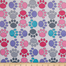 Exclusive Shannon Studio Digital Minky Cuddle Paw-some Bright
