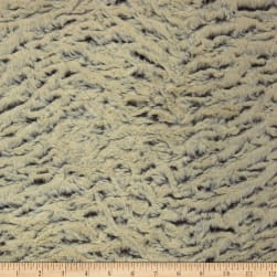Shannon Minky Luxe Cuddle Frosted Zebra Brown Fabric