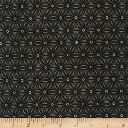 Timeless Treasures Paris Noir Geo Black Fabric