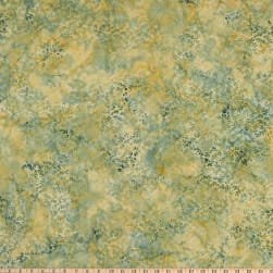 Island Batik Quiet Shades Spikes Lucky Bamboo Fabric