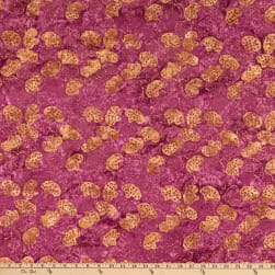Island Batik Electric Desert Prickly Pear Amethyst Fabric