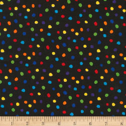 Kaufman Dot and Stripe Delights Small Dot Multi