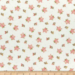 Henry Glass Flannel A Peaceful Garden Small Floral