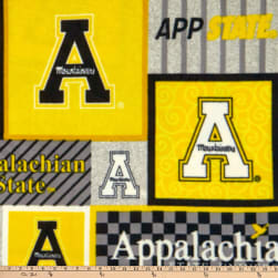NCAA Appalachian State Mountaineers College Patch Fleece Multi