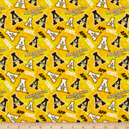 NCAA Appalachian State Mountaineers Tone on Tone Cotton Multi Fabric