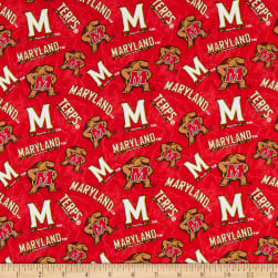 NCAA Maryland Terrapins Tone on Tone Cotton Multi