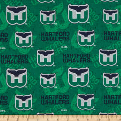 NHL Hartford Whalers Tone on Tone Cotton Multi