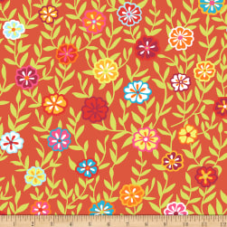 Kaffe Fassett Collective Busy Lizzy Red