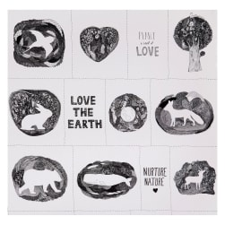 Windham Love The Earth Earth Family White
