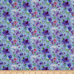 Whistler Studios Serendipity Soft Floral Periwinkle