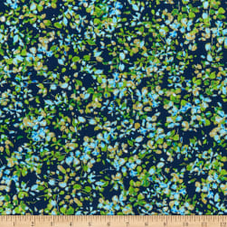 Kanvas Watercolor Wishes Petal Party Navy/Turquoise