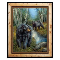 Wild Wings Reluctant Companion 36'' Wall Panel Multi Fabric