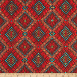 STOF France Timor Rouge Fabric
