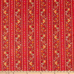 STOF France Gentiane 4 Rouge Fabric