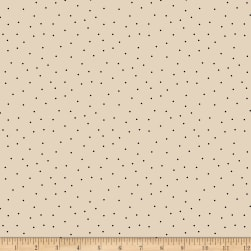 Wilmington Essentials Pindots Cream/Black Fabric