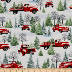 Henry Glass The Tradition Continues Scenic Trucks Gray/Red