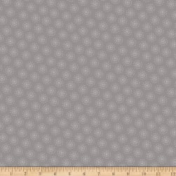 Owl's Woodland Adventure Tonal Dotted Dots Grey
