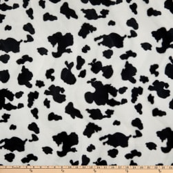 Base Velboa Smooth Wave Prints Cow Small