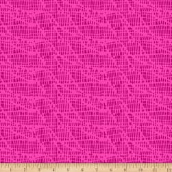 Points Of Hue Interrupted Lines Pink