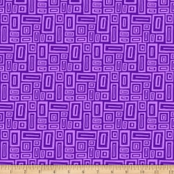 Points Of Hue Rectangle Geo Purple