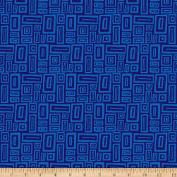 Points Of Hue Rectangle Geo Navy