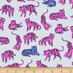 EXCLUSIVE Kaufman Hello Lucky! Lawns Tigers Hot Pink