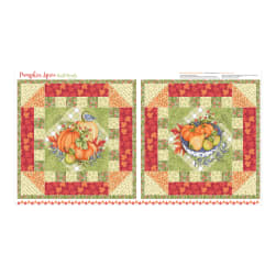 Pumpkin Spice Mini Quilt 24