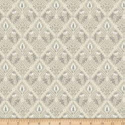 Morris & Co. Mineral Pure Trellis Linen Fabric