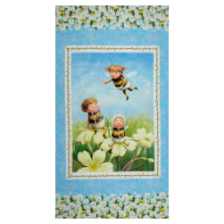 """Michael Miller The Pixie Collection Pixielated 24"""" Panel"""