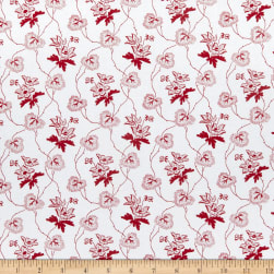 Windham Scarlett Trailing Vine Linen Fabric