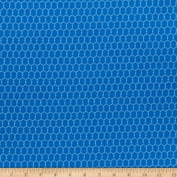 Whistler Studios State Fair Chicken Wire Blue
