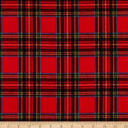 Whistler Studios Dad Plaids Flannel Patrick Red Fabric