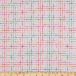 P&B Textiles Little Darlings Check Pink