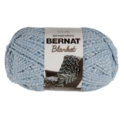 Bernat Blanket Yarn  (300 g/10.5 oz) Blue Fog Twist